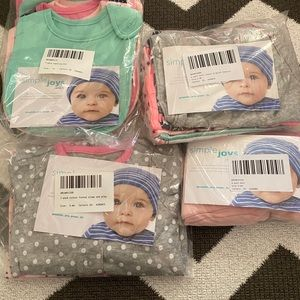 NWT Carter's Baby Girl Bundle